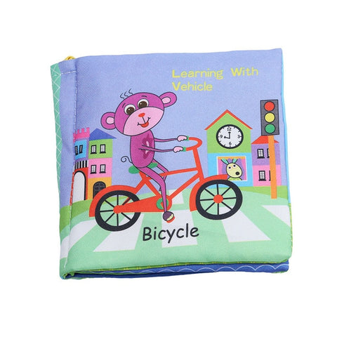 Baby Rattle Cloth Book - Debbie's Kids Boutique