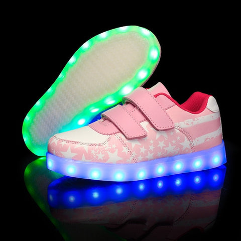 Pretty Stars LED light up shoes