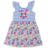 Unicorn Little Girls Sundress
