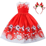 Christmas Dress for Little Girls