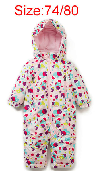 Baby wind and Waterproof Romper - Debbie's Kids Boutique