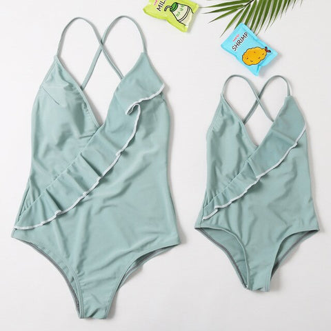 Mommy and Me Vacation Swimsuit