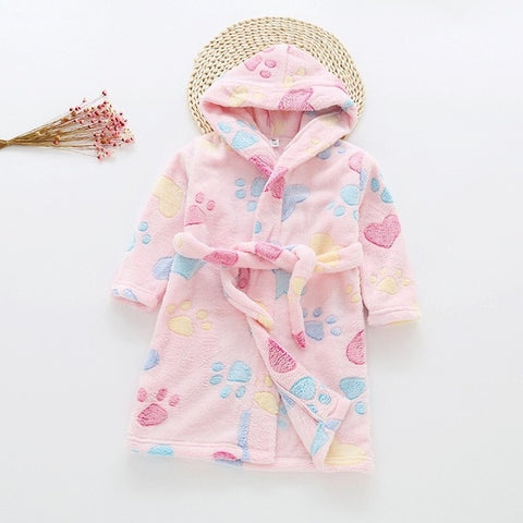 Toddler Cozy Bathrobes