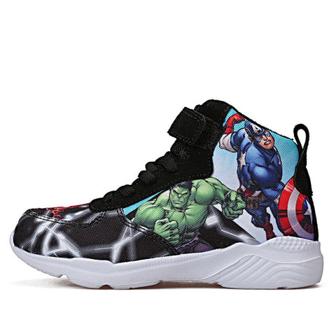 Boys Superhero Basketball sneakers