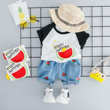 Baby Boy Watermelon Tee and Shorts set - Debbie's Kids Boutique