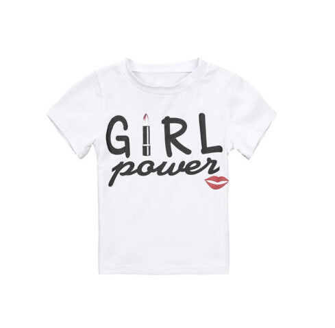 Girl Power Mommy and Me T-shirt