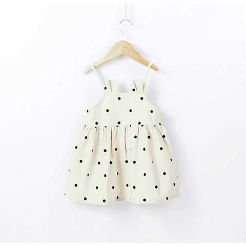Polka Dot Casual Dress