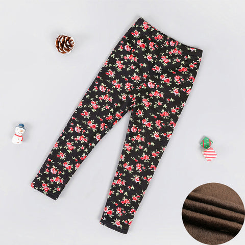 Girl's Winter Cozy Leggings