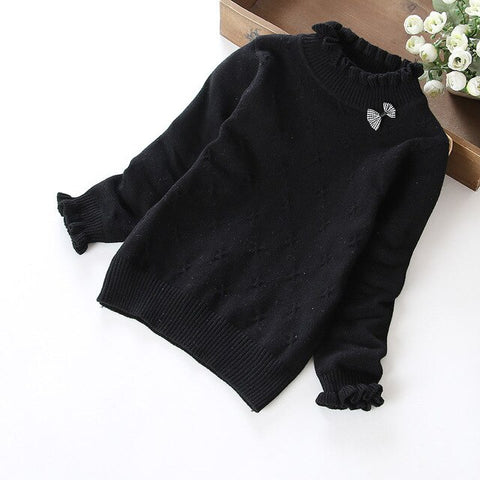 Super soft knitted girls sweater