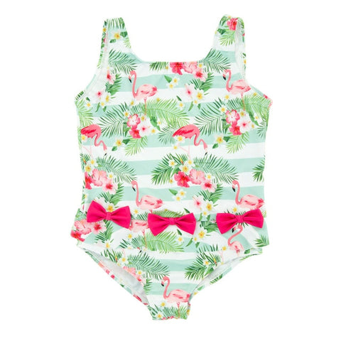 Baby Girl Stunning Palm Trees Swimsuit