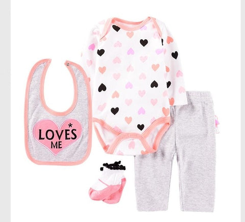 Love me Infant Baby 4pcs/set