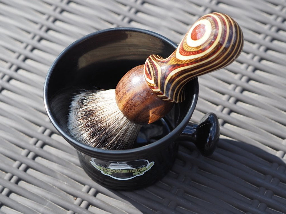 Apothecary Shaving Mug - Black Ship Grooming Co.