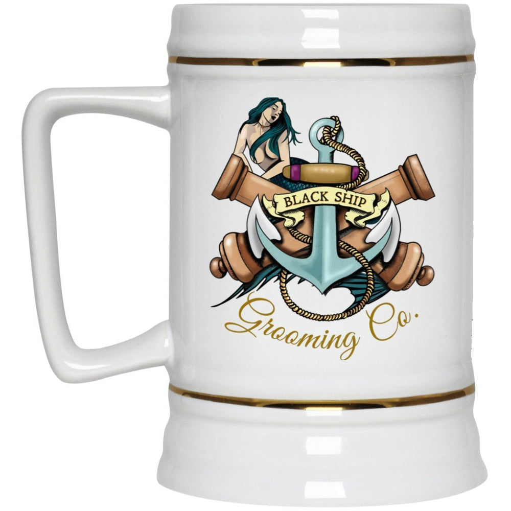 Black Ship Tatto NB The Captain's Tankard 22oz. - Black Ship Grooming Co.