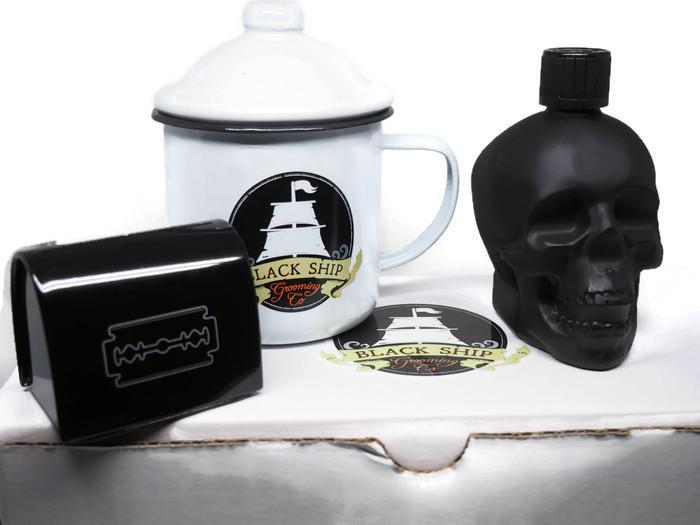 Captain's Shaving Accessories Kit - Black Ship Grooming Co.