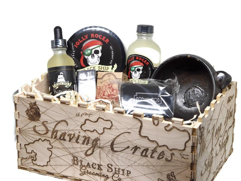 Christmas Crate Day 3 - Black Ship Grooming Co.