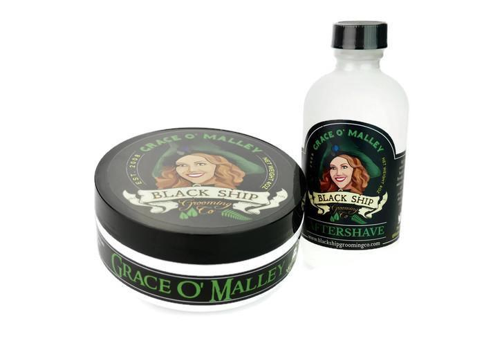 Grace O' Malley Aftershave Splash - Black Ship Grooming Co.