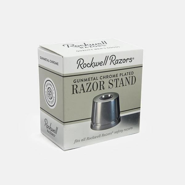 Rockwell Inkwell Razor Stand - Black Ship Grooming Co.