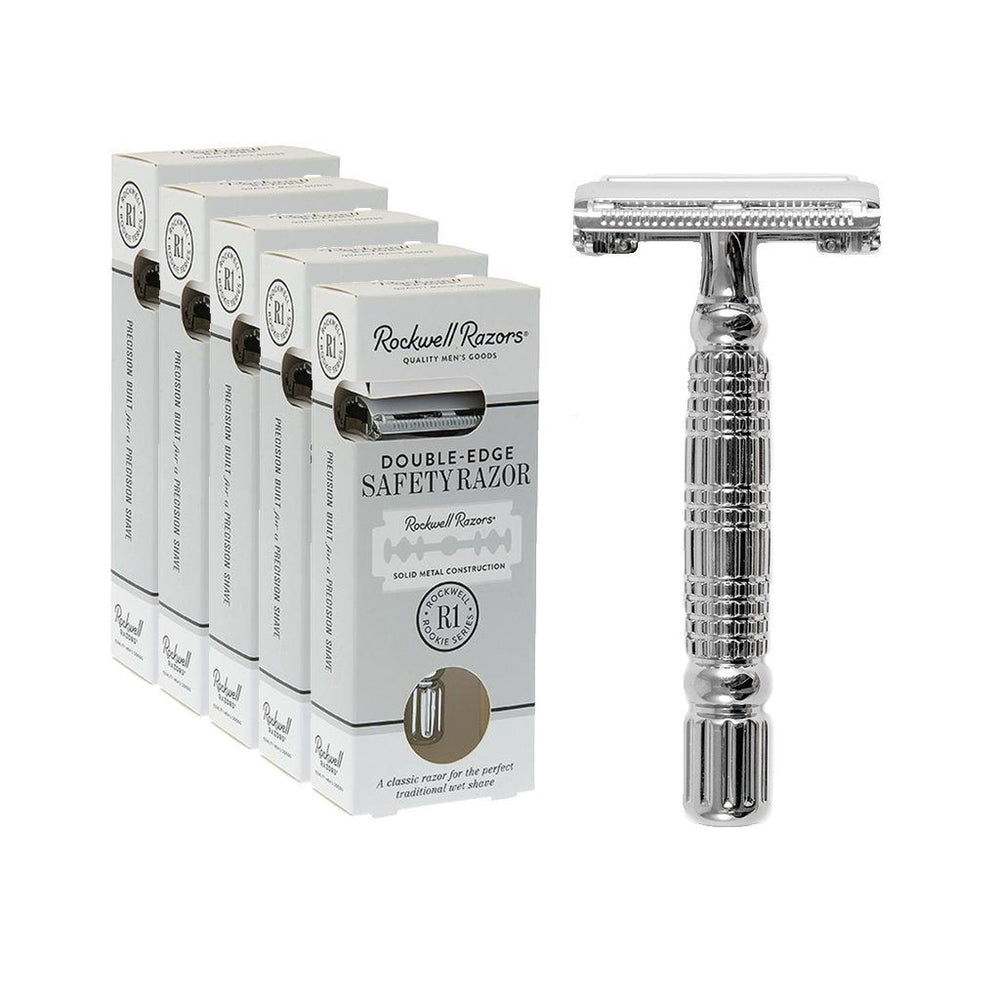 Rockwell R1 Double edge safety razor- - Black Ship Grooming Co.