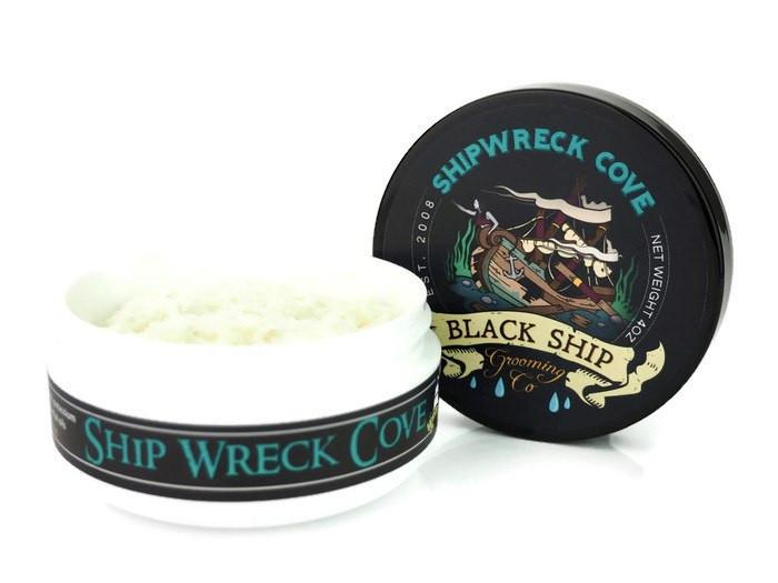 Ship Wreck Cove Shaving Soap - Black Ship Grooming Co.
