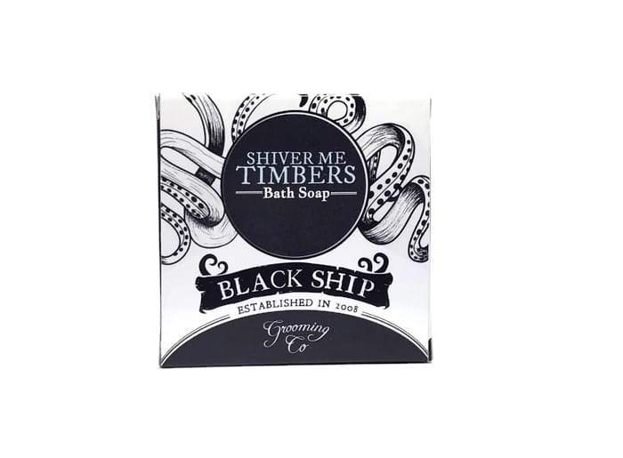 Shiver Me Timbers Bath Soap - Black Ship Grooming Co.