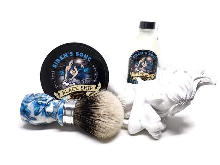 Siren's Song Shaving Soap - Black Ship Grooming Co.