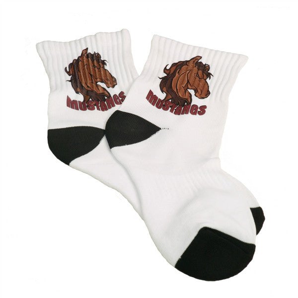 SUBLIMATABLE SHORT SOCKS-PAIR