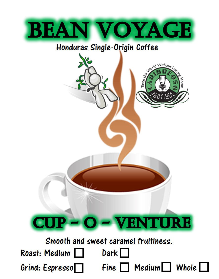 Bean Voyage (Honduras Single-Origin Coffee)