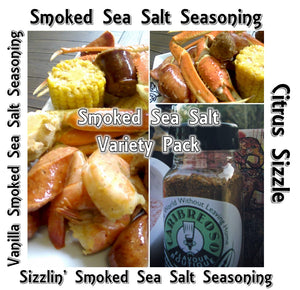 Smoked Sea Salt Variety Pack