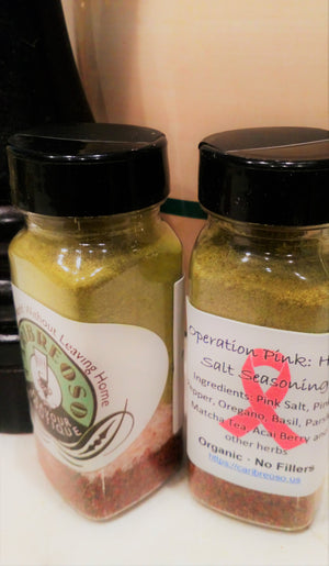 Operation Pink: Herb Salt Seasoning