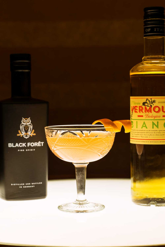 """The Uhu's Truth"" Drink mit Black Forêt Fine Spirit"