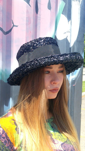 Homburg Straw Hat