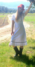 Eyelet Pinafore Dress