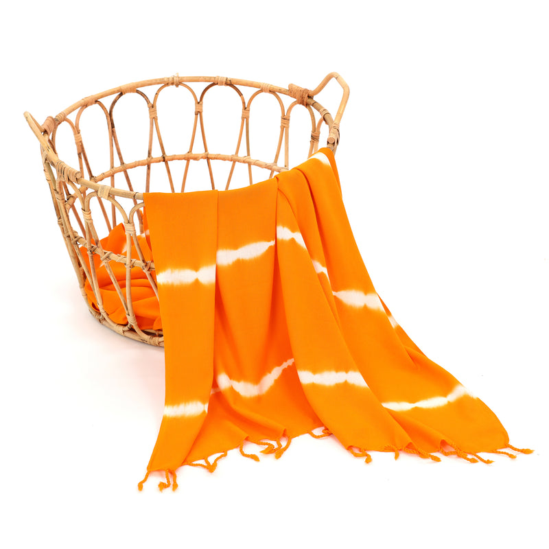 Yaren Turkish Towel Orange