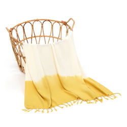 Alev Turkish Towel Yellow