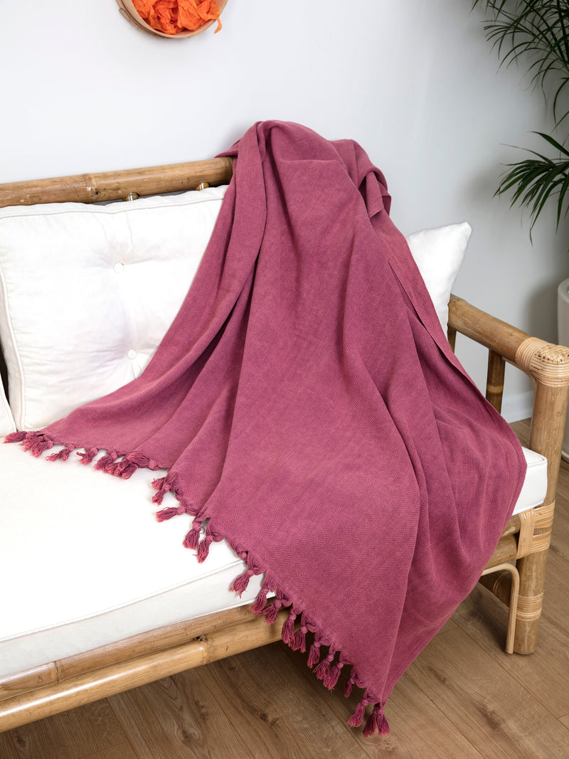 ALA Blanket Red-Full