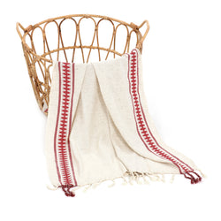 Peshce Turkish Cotton Towel Red