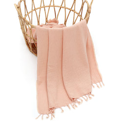MILA Turkish Cotton Towel Melon
