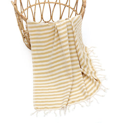 Meyra Turkish Cotton Towel Yellow