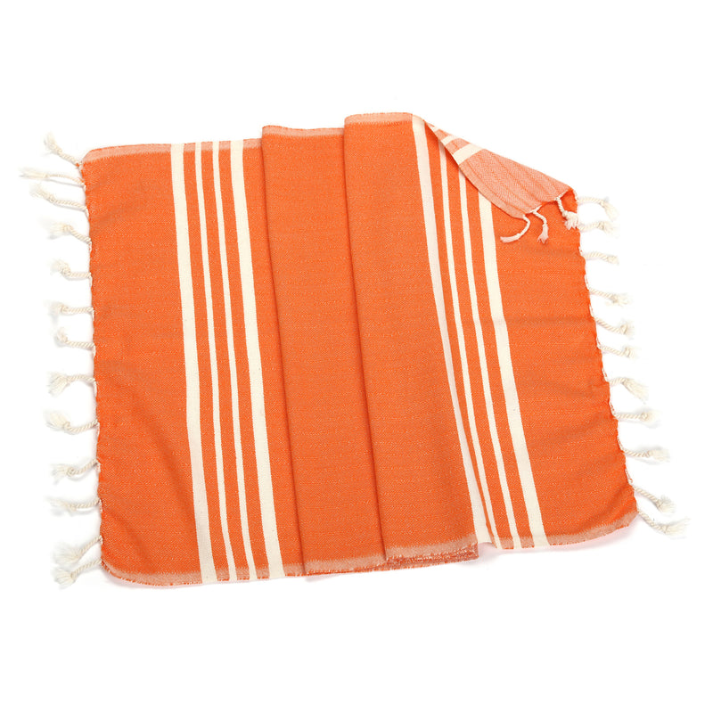 Yasmin Orange Hand Towel