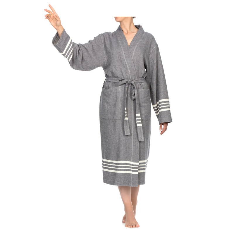 Azra Bathrobe D. Gray