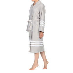 Layen Cotton Bathrobe Beige