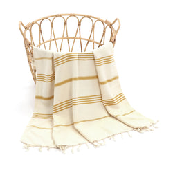 Bade Turkish Cotton Towel Yellow