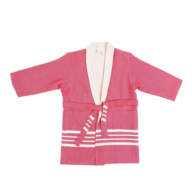 Ada Bathrobe With Terry Fuchsia