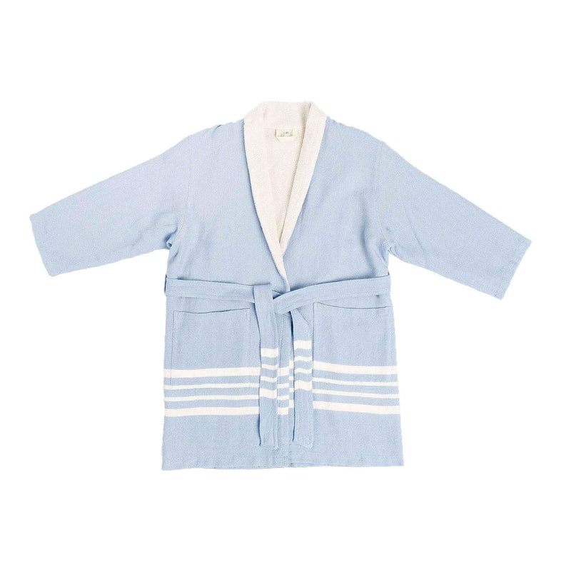 Ada Bathrobe With Terry Blue