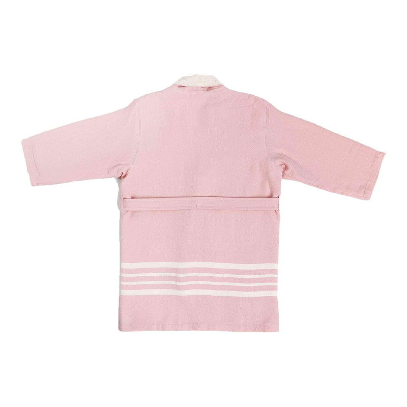 Ada Bathrobe With Terry Pink