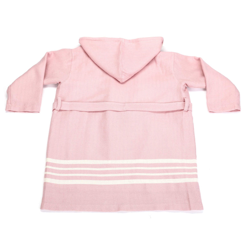 Ada Bathrobe With Hood Pink