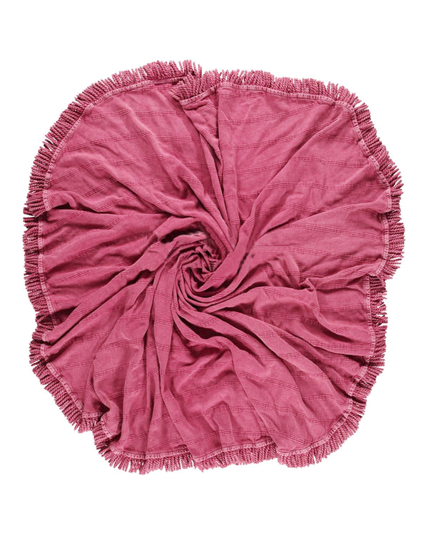 Round Towels With Fringes