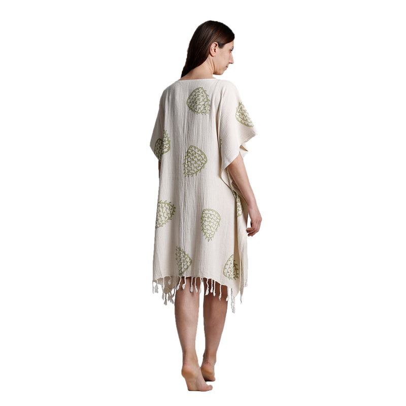 Mina Tunic Dress Green