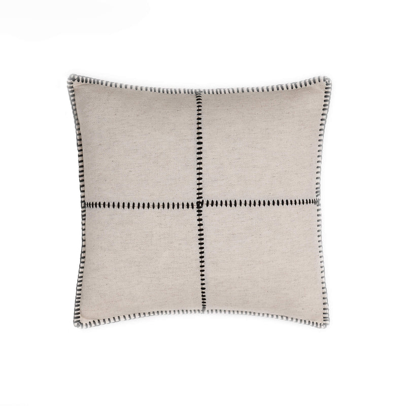 Damla Pillow White Black
