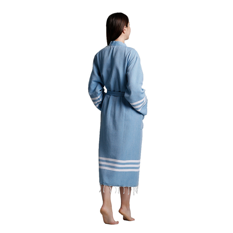 Layen Bathrobe Petrol